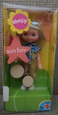 BARBIE SHELLY SUN FUN TOMMY DOLL W/ BONGOS B5792 2003 *new*