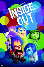 INSIDE OUT - DISNEY / PIXAR MOVIE POSTER / PRINT (REGULAR STYLE) (SIZE 24 x 36)