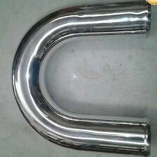SALE aluminium 180 degree U bend x 600mm long for intake intercooler 76 mm 3