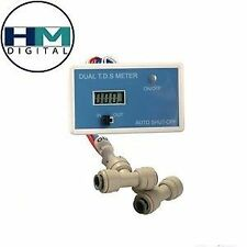 DM-1 (HM Digital) In-line Dual TDS Monitor Meter/RO Purity Monitor