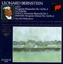 LISZT & ENESCU & BRAHMS - BERNSTEIN ROYAL EDITION (CD 1992 Sony)