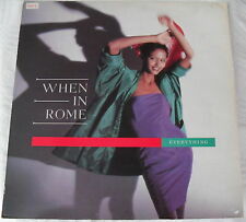 When in Rome - Everything /Whatever the weather -Maxi Single - TEN X 210