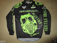 Hostile BMX Racing Black Industries Bike Jersey XS X-Small