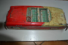 JOUSTRA MADE IN FRANCE VOITURE TOLE COMMANDER CLE1956