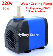 AC 220v 30w Water Cooling Pump for Engraving Spindle Motor CNC Drilling Machine