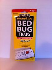 Harris Bed bug traps BBTRP bedbug traps with lure, qty 15 packs sticky traps