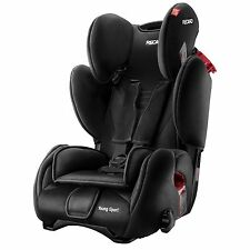 Recaro Young Sport Group 1/2/3 Child / Children's / Baby Car Seat - Black