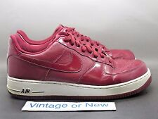 Nike Air Force 1 Low '07 Team Red Black 2010 sz 12