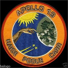 APOLLO 19 - Cancelled flight -  PATCH -  NASA19