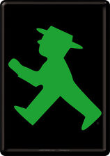 Ampelmännchen Berlin Green Tin Sign 10x14 cm Sheet map 16416 Sign