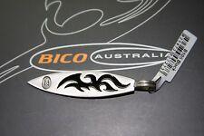 BICO Australia's FLAMIN (B105) silver plated pendant with black accent