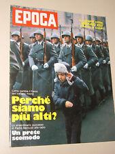 EPOCA=1977/1376=PADRE ERNESTO BALDUCCI=FLAVIO TOGNI CIRCO=RUN RUN SHAW=ILLICH=