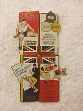 LONDON 1908 4 PIN SET/ PART OF 1996 COCA-COLA OLYMPIC 100 LAPEL PIN COLLECT