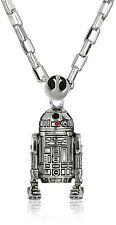"""NEW Licensed Star Wars R2D2 Men's Pendant 30"""" Necklace by Han Cholo R2 D2"""