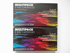 10 CANON PIXMA MG5450 MG5550 MG5650 MG6450 MX725 COMPATIBLE INK CARTRIDGES