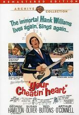 Your Cheatin' Heart  BW/DVD-R (DVD Used Very Good) BW/DVD-R