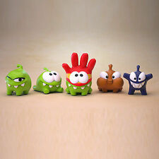 Prosto Toys PVC Cut the Rope figure Om Nom toy 5pcs collectible Original - 243p