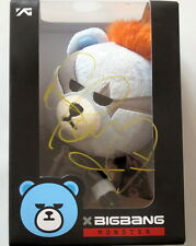 BIGBANG OFFICIAL BEAR 2015  KRUNK X BIGBANG MONSTER autographed by GD G-Dragon