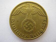Germany 1937-J 5 Reichspfennig, GVF.