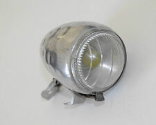 LUXOR 65 HEAD LIGHT-VINTAGE BICYCLE LAMP HAMMERED FENDER-1940-50'S-HERSE,SINGER.