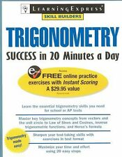 Trigonometry Success in 20 Minutes a Day by LearningExpress Staff (2007,...