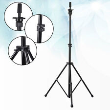 Adjustable Wig Head Stand Tripod Holder Hairdressing Mannequin Head Tripod