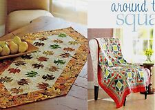 Autumn Breeze Table Runner  &  Around The Square Quilt       Pattern Only