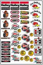 1/64, 1/87 - DECALS FOR HOT WHEELS, MATCHBOX, SLOT CAR: GASSER VII