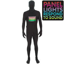Adult Raver Morphsuit Morph Suit  Authentic Original Fancy Dress Large