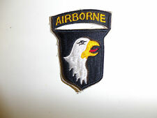 b0118 WW2 US Army Airborne Infantry Division 101st patch overseas combat R3A