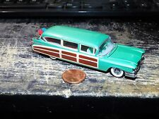 Hot Wheels L/E 100% Rubber Tires 1/64 Scale Cadillac Eldorado Woody 1959
