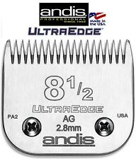 ANDIS ULTRAEDGE 8 1/2 BLADE*Fit Most Oster,Wahl,Moser Laube Clipper*Pet Grooming