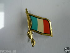 PINS,SPELDJES 50'S/60'S COUNTRY FLAGS 27 FRANCE VINTAGE VERY OLD VLAG