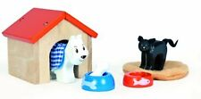 Le Toy Van Wooden Pet Set for Dollhouse People