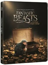 Fantastic Beasts and Where to Find Them 3D Steelbook Blu Ray (Region Free)