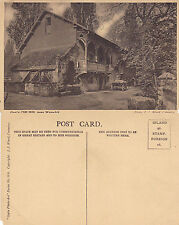 1920's GUYS CLIFF MILL NEAR WARWICK WARWICKSHIRE UNUSED POSTCARD