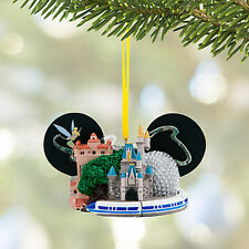 NEW! Disney Parks Walt Disney World Ear Hat Christmas Ornament with Tinker Bell