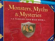 Monsters, Myths and Mysteries : A Tangled Tour Maze Book by Paul. M Woodruff