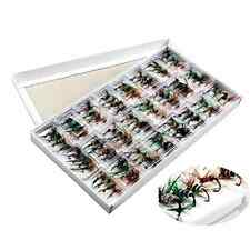 Fishing Lures Colorful Assortment Dry Fly Fishing Flies Pack of 96pcs