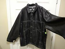 NEW-Men- Marithe Francois Girbaud Gray Cotton/Polyester Jean Jacket Sz XXXL-3XL