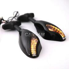 LED Turn Signals Light Mirrors For Yamaha YZF R1 R6 R6S 600R 750R YZR FZ1