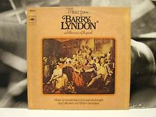 MUSIC FROM BARRY LYNDON AND OTHER MUSIC OF THE PERIOD LP ITA 1976 CBS 61684