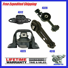 Transmission & Engine Motor Mounts Set For Nissan Cube, Tiida, Versa 1.8L