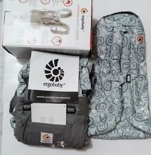 New ERGO Original Baby Carrier Galaxy Grey with Gray Infant Insert !