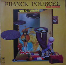 FRANCK POURCEL GRAND ORCHESTRE MUSIC PARADE DOUBLE FRENCH LP