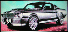 FORD SHELBY (VINTAGE CAR) ~ Counted Cross Stitch KIT #K993