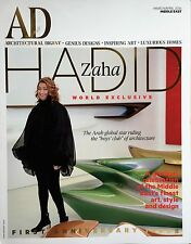 Architectural Digest AD Magazine March April 2016 Middle East Dame Zaha Hadid