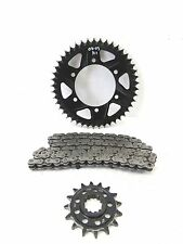 02-03 YAMAHA YZF R1 CHAIN SPROCKET KIT FRONT REAR 520