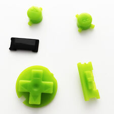 New Replacement Green (Kiwi) Colour Buttons Nintendo Game Boy Color GBC Mod