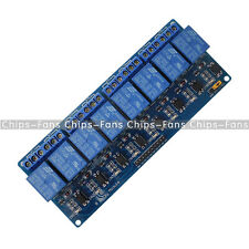 12V 8Channel Relay Module with Optocoupler for Arduino UNO 2560 1280 ARM PIC AVR
